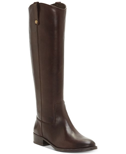 INC International Concepts INC Fawne Riding Leather Boots , Created for Macy's