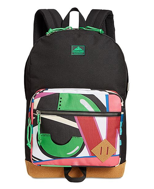 c12e1439e99f Steve Madden Men s Crash Printed Dome Backpack - All Accessories ...