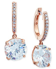 Kate Spade New York  Crystal and Pavé Drop Earrings