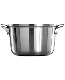 Premier Space-Saving Stainless Steel 12-Qt. Stockpot & Lid