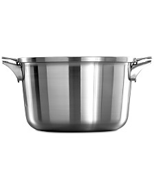 Calphalon Premier Space-Saving Stainless Steel 12-Qt. Stockpot & Lid