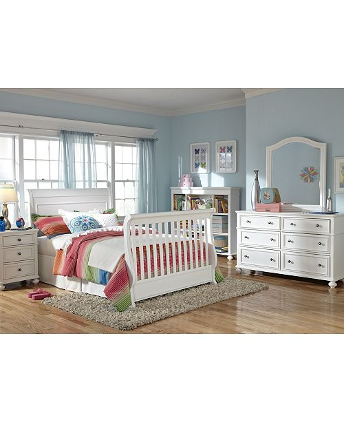 Roseville 4-In-1 Convertible Baby Crib, (Convertible Baby Crib, Toddler  Daybed & Guard Rail, Bed Rails & Slat Roll)