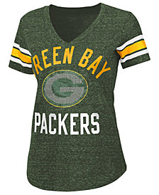 G-III Sports Women's Green Bay Packers Big Game Rhinestone T-Shirt