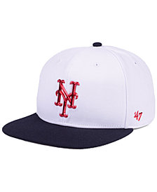 '47 Brand New York Mets Firework CAPTAIN Cap
