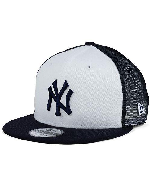 c8d2a9f0 ... New Era New York Yankees Old School Mesh 9FIFTY Snapback Cap ...