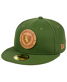 New Era Chicago White Sox Vintage Olive 59FIFTY Fitted Cap