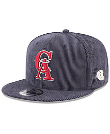 New Era Los Angeles Angels All Cooperstown Corduroy 9FIFTY Snapback Cap