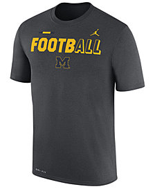 Nike Men's Michigan Wolverines Legend Football T-Shirt