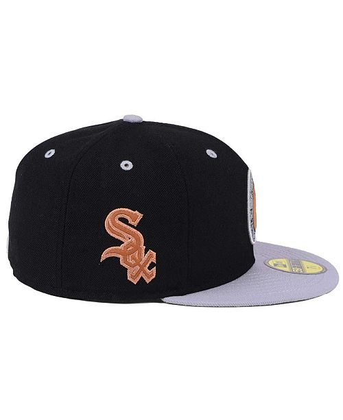 new arrival 6ea82 33709 ... new zealand new era chicago white sox x wilson circle patch 59fifty  fitted cap ee609 e5334