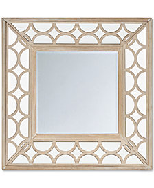 Madison Park Avalon Scallop Wood Frame Mirror