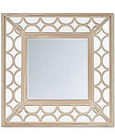 Madison Park Avalon Scallop Wood Frame Mirror