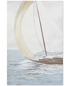 JLA Sail Away Knife Palette Paint Canvas, Quick Ship