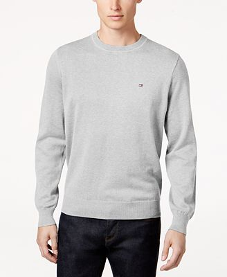 Tommy Hilfiger Signature Solid Crew Neck Sweater Created For Macys