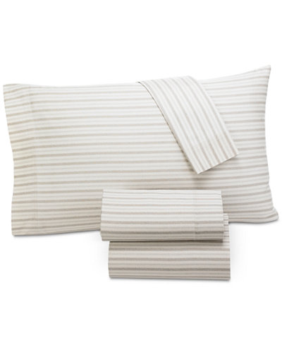 CLOSEOUT! Lucky Brand Leila Paisley King Sheet Set, Created for Macy's
