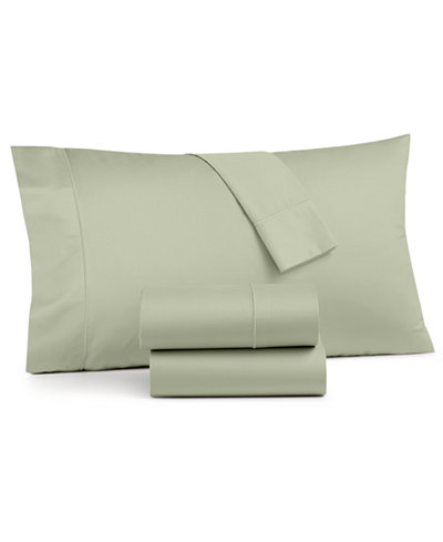 Charter Club Sleep Luxe 4-Pc Solid King Sheet Set, 800 Thread Count 100% Cotton, Created for Macy's