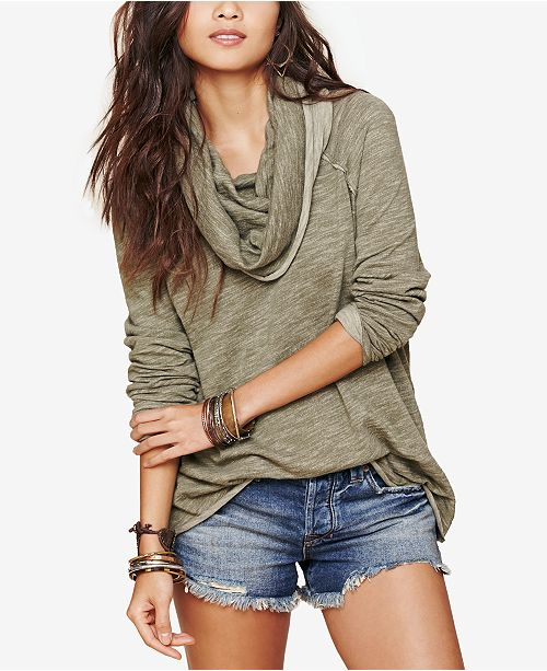 03048160f3 Free People Cocoon Cowl Neck Sweater & Reviews - Sweaters - Women ...