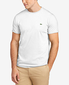 Lacoste Men's Crew-Neck Pima Cotton T-Shirt