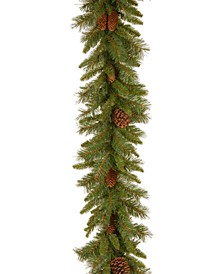 9' Traditional Pine Cone Garland
