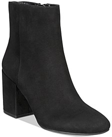 Gatlin Block-Heel Booties, Created for Macy's
