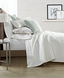 CLOSEOUT! Voile Quilted Coverlet & Sham Collection, Created for Macy's
