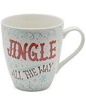 Pfaltzgraff Jingle All The Way Mug