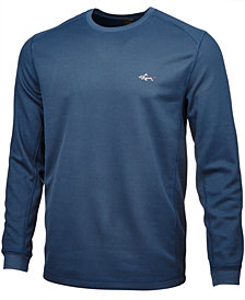 Greg Norman For Tasso Elba Colorblocked Thermal Shirt, Only at Macy's