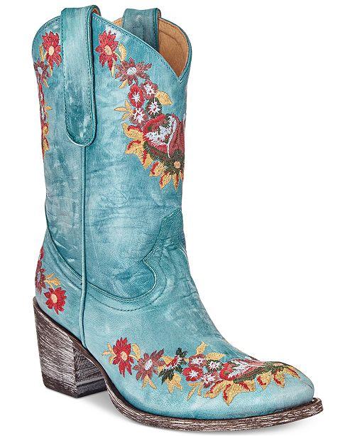 aa7241ab9d ... INC International Concepts Anna Sui x I.N.C. Old Gringo Lynn Western  Boots, Created For Macy's ...