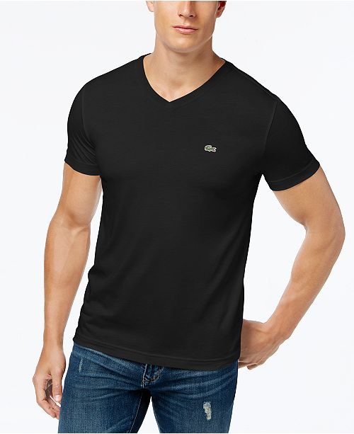 cb1e0d95 Men's V-Neck Pima Cotton T-Shirt