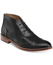 Johnston & Murphy Men's Conard Cap-Toe Chukka Boots