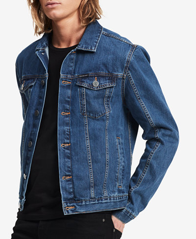 Calvin Klein Jeans Men's Denim Jacket - Coats & Jackets - Men - Macy's