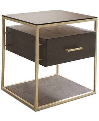 Furniture Closeout Odyssey End Table W Usb Power Outlet