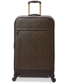 "Calvin Klein Mulberry 29"" Softside Spinner Suitcase"