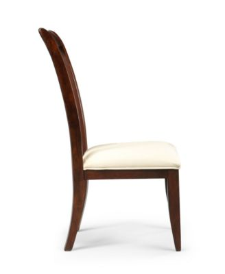 Furniture CLOSEOUT! Metropolitan Splat Back Side Chair, Created For Macyu0027s    Furniture   Macyu0027s