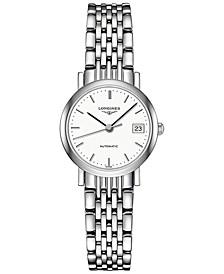 Women's Swiss Automatic Elegant Stainless Steel Bracelet Watch 26mm