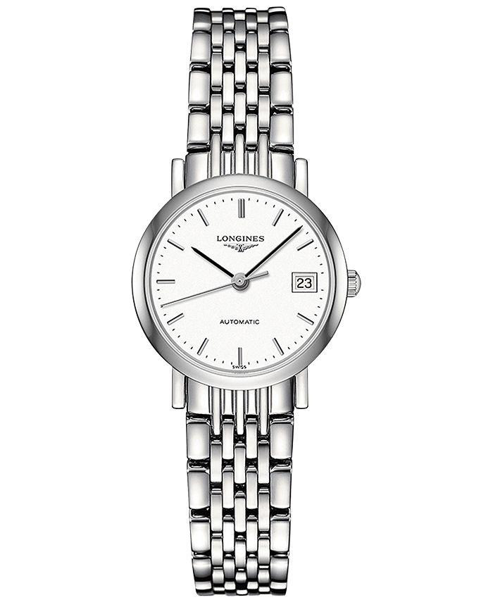 Longines - Women's Swiss Automatic Elegant Stainless Steel Bracelet Watch 26mm