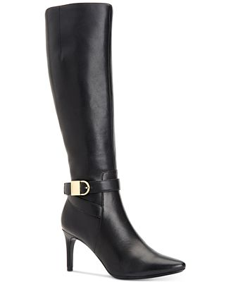 Calvin Klein Jemamine Wide Calf Tall Dress Boots Created for Macy's