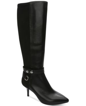TABOR WIDE-CALF BOOTS WOMEN'S SHOES