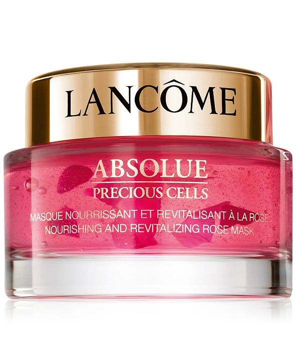 Lancome Absolue Precious Cells Nourishing & Revitalizing Rose Mask, 2.5 oz.