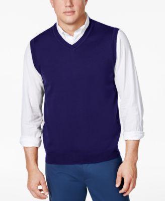 club room men s sweater vest created for macy s sweaters men rh macys com