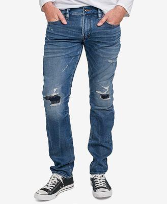 Mens Slim Jeans Silver Jeans Co