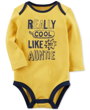Carters Cool Like My Auntie Cotton Bodysuit Baby Boys (024 months)