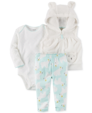 Carter's 3-Pc. Hooded...