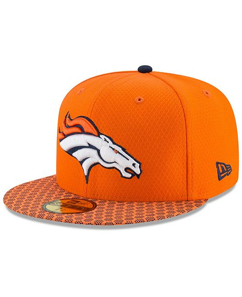 515a8fbfe40 New Era Boys  Denver Broncos Sideline 59FIFTY Fitted Cap - Sports ...