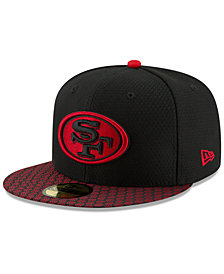 New Era Boys' San Francisco 49ers Sideline 59FIFTY Fitted Cap