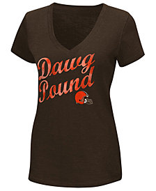G-III Sports Women's Cleveland Browns Trophy T-Shirt