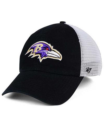 '47 Brand Baltimore Ravens Deep Ball Mesh CLOSER Cap