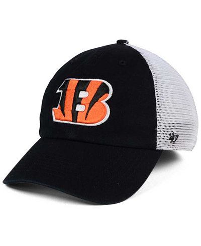 '47 Brand Cincinnati Bengals Deep Ball Mesh CLOSER Cap