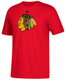 adidas Men's Chicago Blackhawks Primary Go To T-Shirt