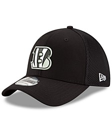 Cincinnati Bengals Black/White Neo MB 39THIRTY Cap