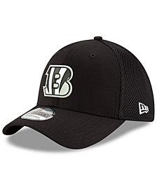 New Era Cincinnati Bengals Black/White Neo MB 39THIRTY Cap